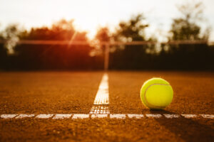 Clay Tennis Court Riverside Park- Capalino+Company success story