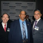 James Capalino, Council Member Leroy Comrie and Joe Monian