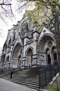 Amsterdam Avenue Cathedral of St. John the Divine, City Landmark