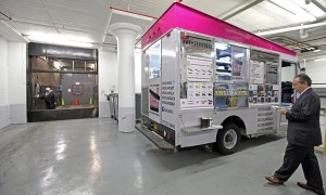 Vertical Food Truck