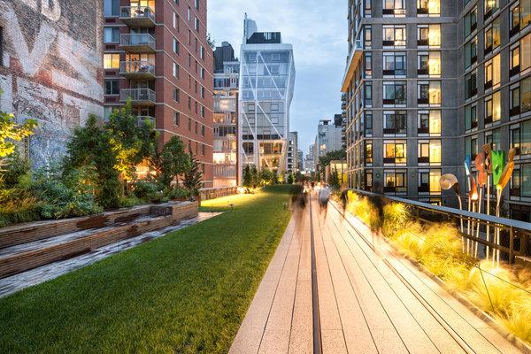 High Line near 23rd Street