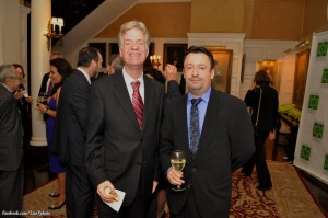 Mark Thompson, Eric Lugo, Gramercy Neighborhood Association's 100th Anniversary Celebration