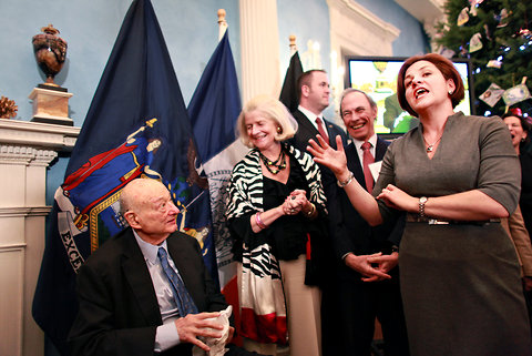 Ed Koch's Birthday Party
