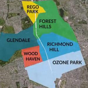 Queensway Neighborhoods Map