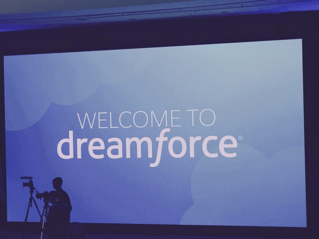 Dreamforce sign