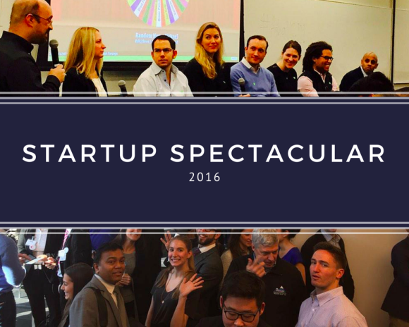 Startup Spectacular 2016 banner
