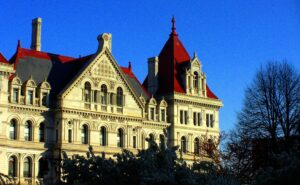 New York State Capitol in Albany - This Week in NY State News ft Governor Cuomo from Capalino+Company