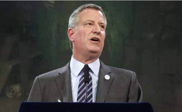 de-blasio NYC Mayoral Elections.