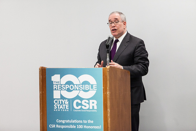 NYC Comptroller Scott Stringer at City&State's Responsible 100 Event for Corporate Social Responsibility CSR Awards