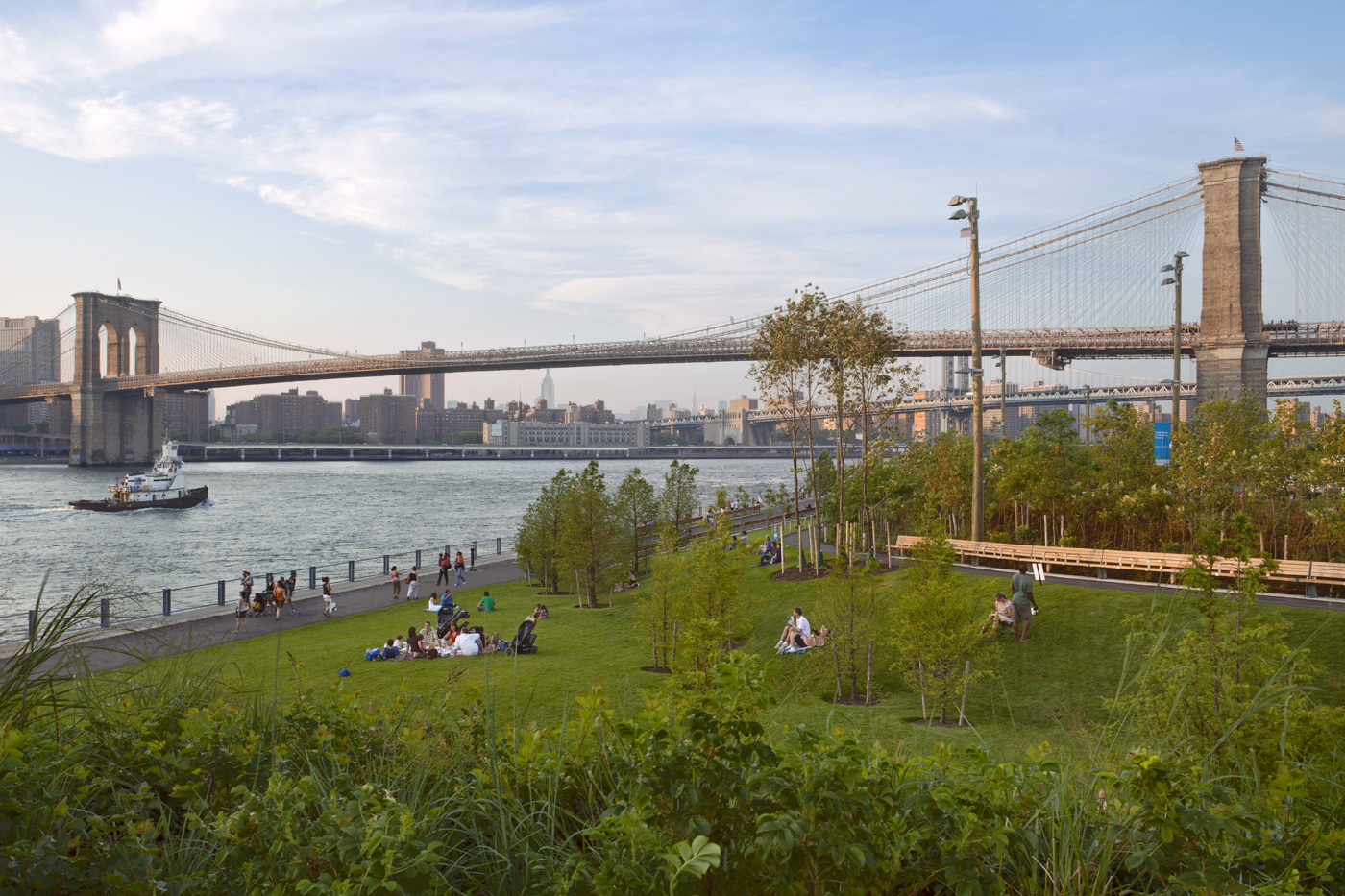 A History of Brooklyn Bridge Park: How a Community Reclaimed and Transformed New York City's Waterfront with Nancy Webster, Executive Director of the Brooklyn Bridge Park Conservancy, and journalist David Shirley.