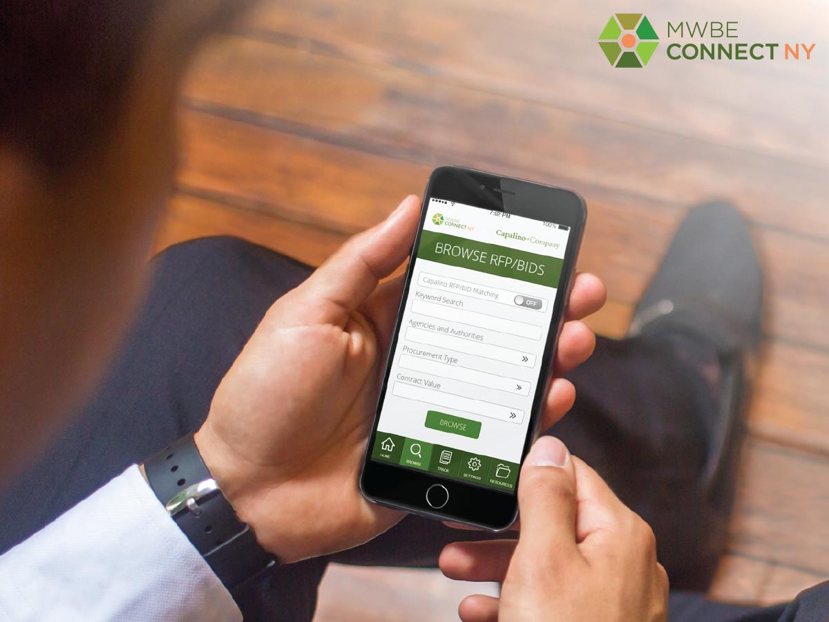 MWBE Connect NY app