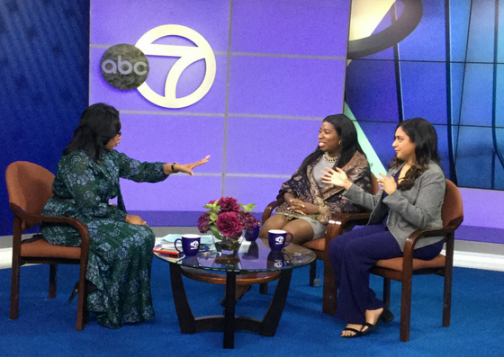 Sandra Bookman from WABC-TV Interviews Capalino+Company's Tunisha Walker and Safeena Mecklai on MWBE Connect NY