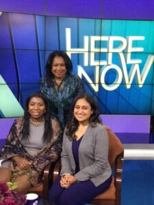 Sandra Bookman WABC-7 Here and Now with Tunisha Walker and Safeena Mecklai from Capalino+Company on MWBE Connect NY