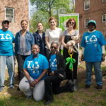 Capalino+Company Client New York Restoration Project and Susan Sarandon Plant Fruit Trees in South Jamaica