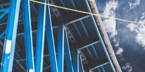 Structural steel painting and cleaning
